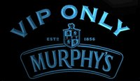 b ale - LS1250 b VIP Only Murphy s Beer Ale Neon Light Sign jpg