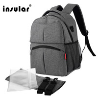 Wholesale New Fashion Waterproof Nylon Baby Diaper Bag Backpack Multifunctional Mommy Backpack Nappy Bag