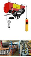 Wholesale 220V electric chain hoist with double speed lb electric winch