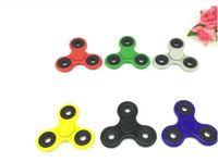 Wholesale Newest HandSpinner Fingertips Spiral Fingers Fidget Spinner EDC Hand Spinner Acrylic Plastic Fidgets Toys Gyro Toys