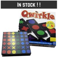 Wholesale Qwirkle board game Party Family games wooden Qwirkle tiles kids toys Zorn toys