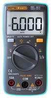 Wholesale ZOTEK ZT102 Digital Multimeter counts Back light AC DC Ammeter Voltmeter Ohm Frequency Diode Temperature