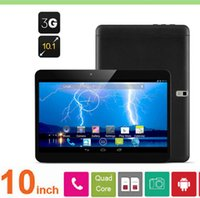 Wholesale 10 Inch G Phone call Tablet PC Android Quad core MTK6582 GB GB GPS Dual Camera Tablet