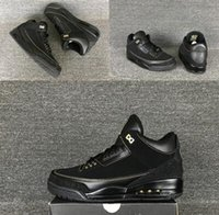 Cheap New With Box Retro Air 3 III BHM Black History Month Man Basketball Shoes 1:1 Best Quality Wholesale Size 7 12 Free Shipping Sneaker