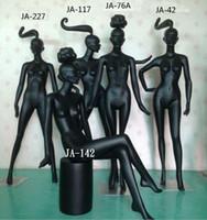 Wholesale Freeshipping colour pc Fashion model props female clothing store female model black female body window show women models racks B366