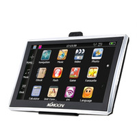 automotive video systems - US Stock quot HD Touch Screen Portable GPS Navigator MB RAM GB ROM FM MP3 Video Play Car Entertainment System with Back Support Free Map