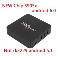 Wholesale 1pcs NEW S905X Fully Loaded MXQ PRO Android TV Box Quad Core G GB K Wifi HDMI NOT RK3229