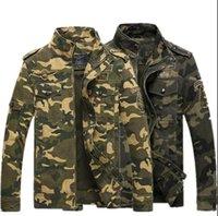 air force one flight jacket - Japanese Tactical Kanye west men s camouflage jacket Men jacket flight pilot military ma1 air force one bomber men clothing