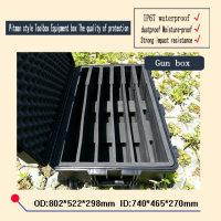 Wholesale trolley Tool case waterproof safety equipment case Plastic sealed case with pre cut foam lining mm