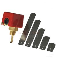 Wholesale quot V A Water Paddle Flow Switch BSPP Thread Connection SPDT Contacts Red