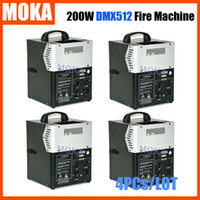 Wholesale 4 chinese hot sale stage special effect head flame machine dmx Fireworks Spary Fire Machine Two Room For Fuel