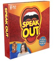 Wholesale DHL SF_EXPRESS Watch Ya Mouth Family Edition the Authentic Hilarious Mouth Guard speak out game party game