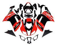 zx6r fairing - 4 Free gifts New ABS Full Fairing Kits Fitment For kawasaki Ninja ZX6R ZX R R Bodywork set red black elf