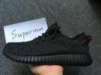 bag flats - Boost Pirate Black BB5350 Mens Running Shoes Women Kanye West Boosts Yezzys Season With Original Box Receipt Socks Bags