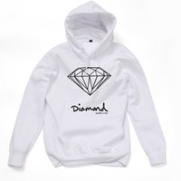 Wholesale diamond supply co Hot Fashi on Men s spring autumn Hoodie pullover sportswear hip hop sweatshirt diamond supply co hoodies