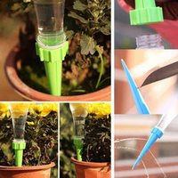 Wholesale 4Pcs Set Plant Flower Water Control Drip Cone Spike Waterer Bottle Irrigation System