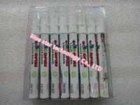 Wholesale Brand Goodplus set mm Highlighter Fluorescent Liquid Chalk Marker Pen for LED Writing fluorescent Board white colour pen