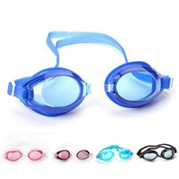 Wholesale Men And Women Swimming Goggles Waterproof High Definition PC Lenses Anti UV High Strength Goggles Children s Common Models