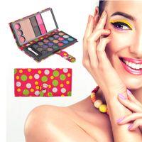 Wholesale 26 Colors Eyeshadow Natural Waterproof Make Up Blush Eyebrow Powder Eye Shadow Makeup Palette PU Cosmetic Beauty Makeup Set