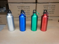 Eco-Friendly aluminium kettle - 4sx Aluminium Alloy Bicycle Kettle Non Toxic Tasteless Portable Water Bottles Outdoor Sports Mountaineering Cups Colorful Fashion Hot Sale
