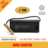 Wholesale Xhunter Hunter Laser HMR Bore Sighter w Battery Pack Rifle Red Dot Boresighter