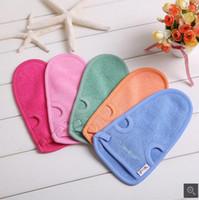 Wholesale South Korea s magic free Cuozao towel bath brush brush back wash bath towel bathroom shower Double thick gloves