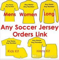 Wholesale 2016 Soccer Jersey Milan camisetas de futbol Football Shirts kids woman tracksuits sweater Soccer Jersey Customers Order Link