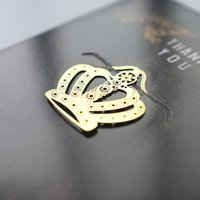 Wholesale Crown Metal Bookmark Cute Bookmarks Gift For Christmas Book Decoration School Office Accessories