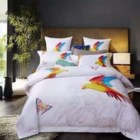adult bedroom designs - Modern Style Parrot solid color Cotton Bedding sets unique design Bedding Supplies Let the bedroom out of the ordinary