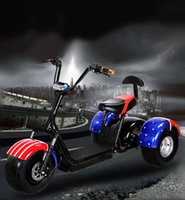 Wholesale Trade assurance new style harley v w shaft drive lithium battery inch tire electric three wheel scooter