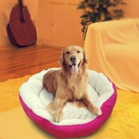 Wholesale Hot Sale Pet Products YJY Puppy Dog Kennel Plush Mat Warm Winter Pet Dogs Fleece Nesting Bed House