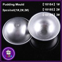 anodizing metal - New Aluminum Alloy Anodizing Round Cake Baking Pudding Moulds Bakeware kitchen tools