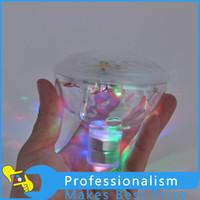 Grossiste- Hot LED sous-marine imperméable Durable Flash lampe flottante Bain Lumière décorative Disco multi couleur Baby Party Piscine thermale bulbe