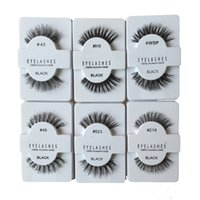 Wholesale Hot sale styles WSP SFalse Eyelashes Fake Eye Lashes shipping free in stock