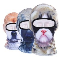 Wholesale Hot New D Animal Halloween Face Mask Cap Bicycle Cycling Fishing Motorcycle Masks Outdoor Sports Ski BalaclavaFull Face Mask