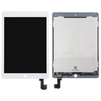 Wholesale AA New LCD Lens Screen Touch Digitizer Assembly W Frame For ipad air2 th A1567 A1566 display white