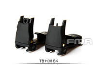 Wholesale High quanity Back Up Polymer Flip Up Front Sight BK Mount Set Front and Rear Folding sight TB1138 BK