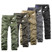 Wholesale The men s overalls outdoor leisure overalls size cotton trousers