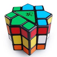Compra Dayan juguete-Wholesale- Dayan Bermuda Star Magic Cube negro gran juguete cerebro de DaYan