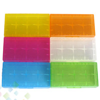 battery holders - 2 Battery Case Box Safety Holder Storage Container Plastic Portable Case fit or CR123A Battery DHL Free