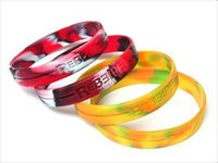 away tv - 100pcs mixed color silicone wristband with your writing or logo debossed Custom logo silicone bracelet for promotional gift Give away