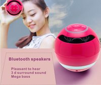 Wholesale Wireless Bluetooth Speaker Ball Radio Card Speaker Portable Small Speaker New Outdoor Mini Bluetooth Speaker Gift GTF memory card