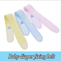 Wholesale 2016 news baby diaper fixed with cotton baby diaper buckle elastic adjustable baby supplies