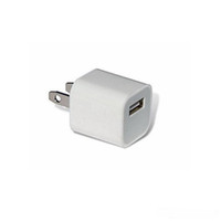 Wholesale Hot Sale Universal A Wall Charger Plug US USB AC Power Adapter for iPhone By DHL FEDEX