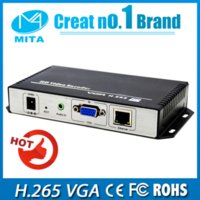 Wholesale VGA HE H VGA HD Encoder for IPTV Live Stream Broadcast VLC support http rtmp udp rtsp onvif