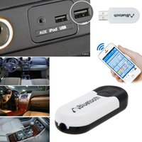 audio output device - Dual Output mm Car USB Bluetooth Receiver Wireless Music Audio Receiver Dongle Adapter For All A2DP Stereo Bluetooth Devices