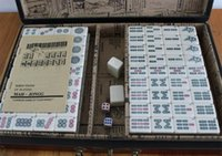 antique gaming table - New Chinese Antique Mahjong Gaming Table Gaming for All People with English Instruction Easy to Learn Chinese wind gift