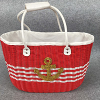 antique clothes line - ALL handmade with lining New Ins Storage Baskets Bins Kids Room Toys Storage Bags Bucket Clothing Organizer Laundry Bag Canvas Organizer