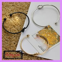 Wholesale 2017 New Product Original Design About Pure Copper Casting Love Knot Open Metal Bangle Bracelet Beautiful Love Bracelet