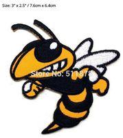achat en gros de abeilles films-BEE HORNET WASP Film série télévisée Costume brodé emblème fer à coudre sur patch cadeau de Noël